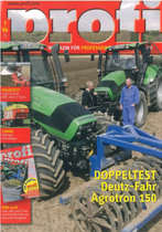 Doppletest Deutz - Fahr AGROTRNO 150