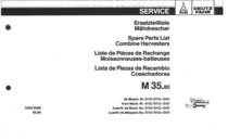M 35.80 - Ersatzteilliste / Spare parts list / Liste de pièces de rechange / Lista de repuestos