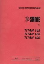 TITAN 145-160-190 - Libretto uso & manutenzione