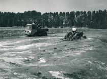 Trattore SAME Atlanta e Samecar Agricolo in risaia