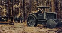 Trattore Deutz da 40 cavalli originariamente prodotto per l'esercito tedesco