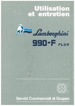 990 F PLUS - Utilisation et Entretien
