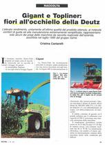 Gigant e Topliner: fiori all'occhiello della Deutz