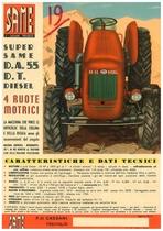 Super Same DA 55 DT a 4 Ruote Motrici