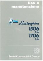 1506 TURBO - 1706 TURBO - Libretto Uso & Manutenzione