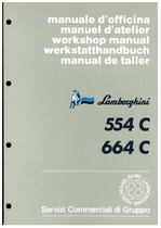 C 554-664 - Manuale d'officina