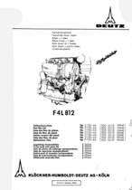 F4 L 812 - Ersatzteilliste / Spare parts list / Liste de pièces de rechange / Lista de repuestos