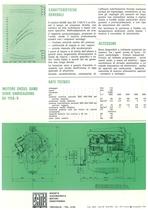 Motore Diesel SA 1158/ V a 8 cilindri a V Hp 168 max