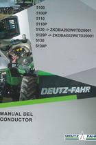 5100 - 5100P - 5110 - 5110P - 5120 ->ZKDBA202W0TD20001 - 5120P ->ZKDBA602W0TD20001 - 5130 - 5130P - Manual del conductor