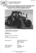 Report test of Lamborghini Champion 150