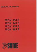 IRON 130 S - 140 S - 150 S - 165 S - Manual de taller