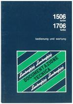 1506 T - 1706 TURBO - Bedienung und Wartung