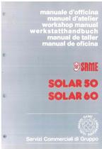 SOLAR 50 - 60 - Manual de oficina