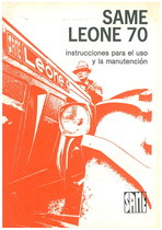 LEONE 70 - Uso y manutencion