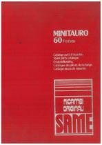 MINITAURO 60 FRUTTETO - Catalogo Parti di Ricambio / Catalogue de pièces de rechange / Spare parts catalogue / Ersatzteilliste / Lista de repuestos