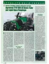 Agrotron TTV 400 di Deutz-Fahr per ogni tipo d'impiego
