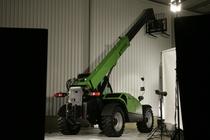 [Deutz-Fahr] Agrovector in studio fotografico