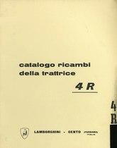 4 R - Catalogo Parti di Ricambio