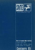 Trattore modello CENTAURO 65 Catalogo Parti di Racambio / Catalogue de pièces de rechange / Spare parts catalogue / Ersatzteilliste / Lista de repuestos