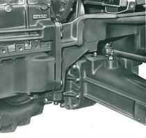 Trattore modello DRAGO- Assale anteriore motore