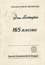 165 RACING - Utilisation et Entretien