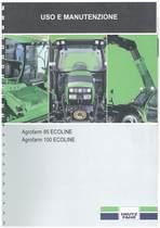AGROFARM 85-100 ECOLINE - Libretto Uso & Manutenzione