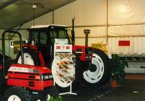 Trattori SAME Solaris 45 e SAME Explorer 90 Turbo in esposizione
