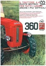 Same 360 Il Trattore a 4 Ruote Motrici per tutti i lavori anche i più difficili