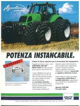 AGROTRON 230 - 260 Potenza instancabile
