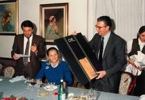 Cena di Natale dei dirigenti del Gruppo SAME-Lamborghini-Hürlimann