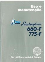 660 F - 775 F - Uso e Manutenção