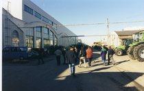 Visita di un concessionario francese/meccanici al vecchio stabilimento di Lauingen