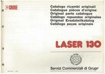 LASER 130 - Catalogo Parti di Ricambio / Catalogue de pièces de rechange / Spare parts catalogue / Ersatzteilliste / Lista de repuestos / Catálogo peças originais