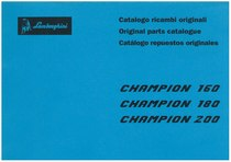 CHAMPION 160 - 180 - 200 - Catalogo ricambi originali / Original parts catalogue / Catalogo repuestos originales
