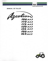 AGROTRON 106 MK3 - AGROTRON 110 MK3 - AGROTRON 115 MK3 - AGROTRON 120 MK3 - AGROTRON 135 MK3 - AGROTRON 150 MK3 - AGROTRON 165 MK3 - Manual de taller