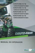 AGROFARM 415 TB ->ZKDCR30200TD10001 - AGROFARM 415 TB ->ZKDCS10200TD10001 - AGROFARM 425 TB ->ZKDCR70200TD10001 - AGROFARM 425 TB ->ZKDCS50200TD10001 - Manual do operador
