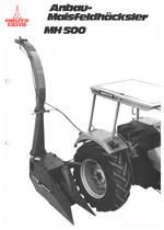 ANBAU-MAISFELDHÄCKSLER MH 500