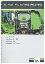 AGROFARM 85-100 - Betriebs und Wartungsanleitung