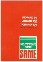 LEOPARD 90 TURBO - JAGUAR 100 EXPORT - Uso y manutencion