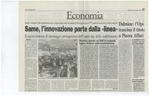 """SAME, l'innovazione parte dalla """"linea"""""""