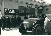 Lancio del trattore SAME Centauro a Lecce