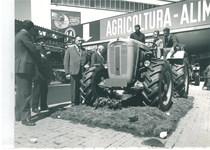 Fiera di Milano - Trattore SAME Ariete in esposizione