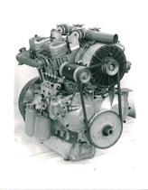 Motore SAME a 4 cilindri a V