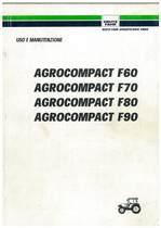 AGROCOMPACT F 60-70-80-90 - Libretto Uso & Manutenzione