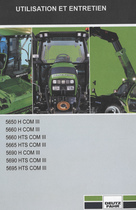 5650 H COM III - 5660 H COM III - 5660 HTS COM III - 5665 HTS COM III - 5690 H COM III - 5690 HTS COM III - 5695 HTS COM III - Utilisation et entretien