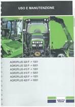 AGROPLUS 320-410-420 F - Libretto Uso & Manutenzione