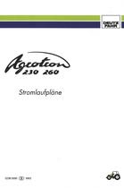 AGROTRON 230 - AGROTRON 260 - Stromlaufpläne