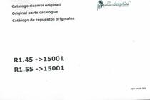 R1.45 ->15001 - R1.55 ->15001 - Catalogo ricambi originali / Original parts catalogue / Catalogo de repuestos originales