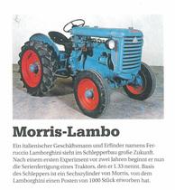 Es war einmal...Morris-Lambo