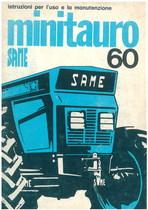 MINITAURO 60 - Libretto uso & manutenzione